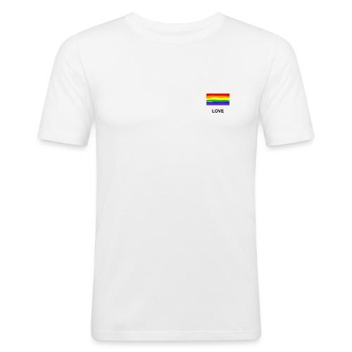 love is love Shirt - Männer Slim Fit T-Shirt
