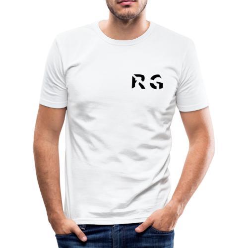 RG Zwart logo - slim fit T-shirt