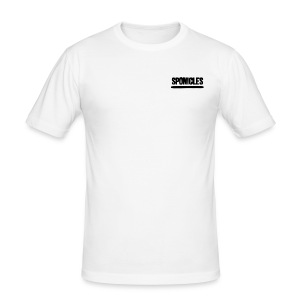 Sponicles Signature Design! - Men's Slim Fit T-Shirt