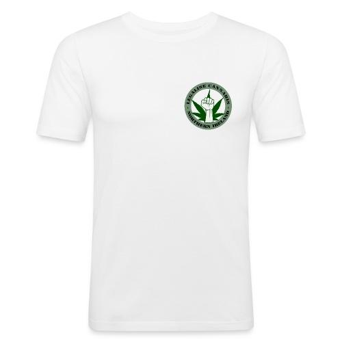 Legalise Cannabis - Northern Ireland - Men's Slim Fit T-Shirt