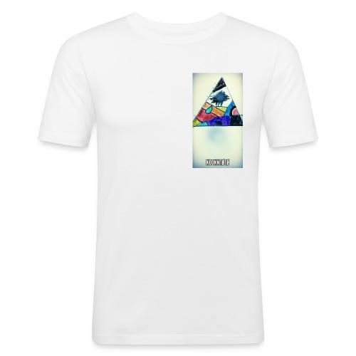 triangle logo spirit - T-shirt près du corps Homme