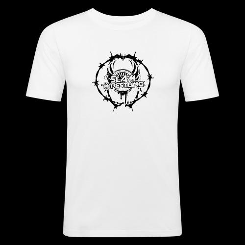 SLAM Wrestling BarbedWire! - Men's Slim Fit T-Shirt