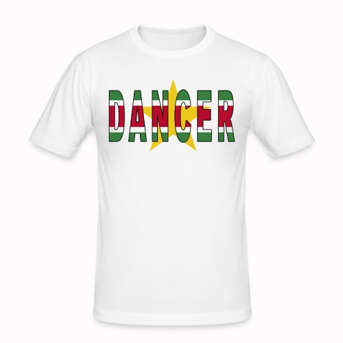 SURINAMESE DANCER - Men's Slim Fit T-Shirt