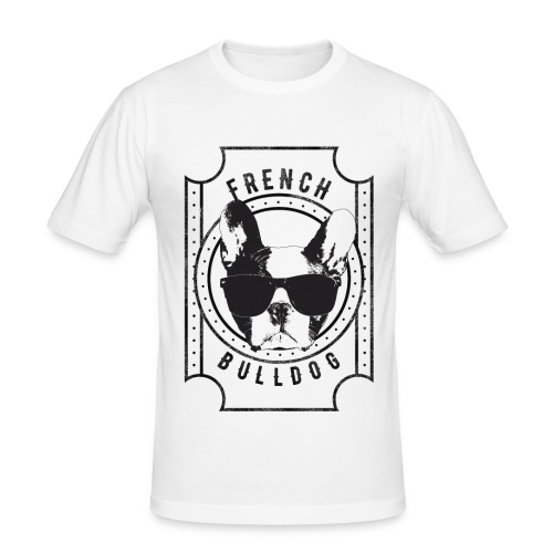 Franse Bulldog - slim fit T-shirt