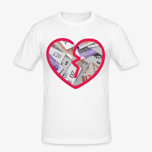 HUNGRY4THEPOUND - Men's Slim Fit T-Shirt