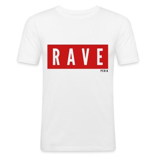 Rave Shirt für Festivals, Raver, Electro Festivals - Männer Slim Fit T-Shirt