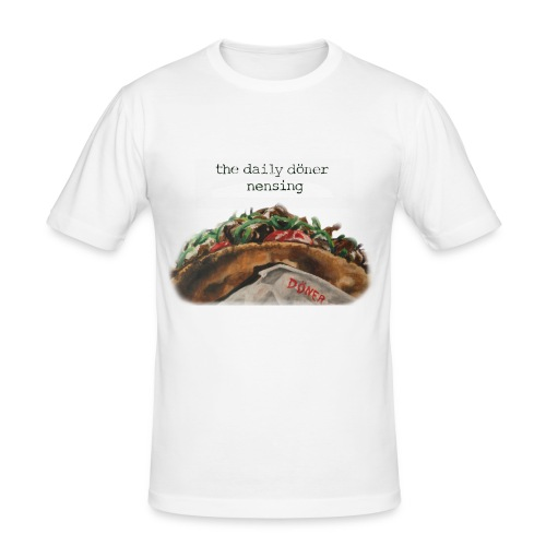 Daily doener - Männer Slim Fit T-Shirt