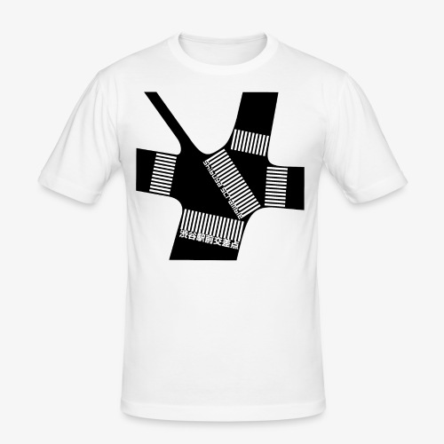 Shibuya Scramble Ver.1 - Tee shirt près du corps Homme