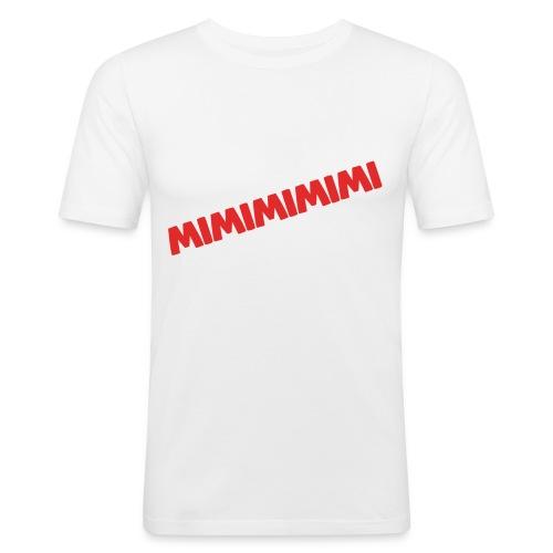 MIMIMIMIMIMI... - Männer Slim Fit T-Shirt