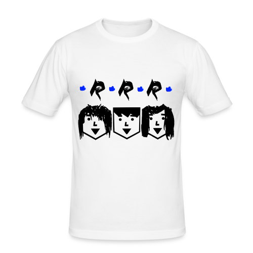 RRR - Heads - Männer Slim Fit T-Shirt