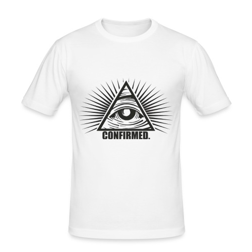 Illuminati - Männer Slim Fit T-Shirt