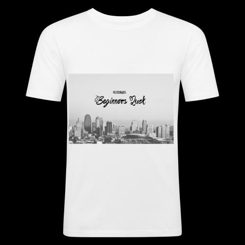 Beginners Luck Album - Men's Slim Fit T-Shirt