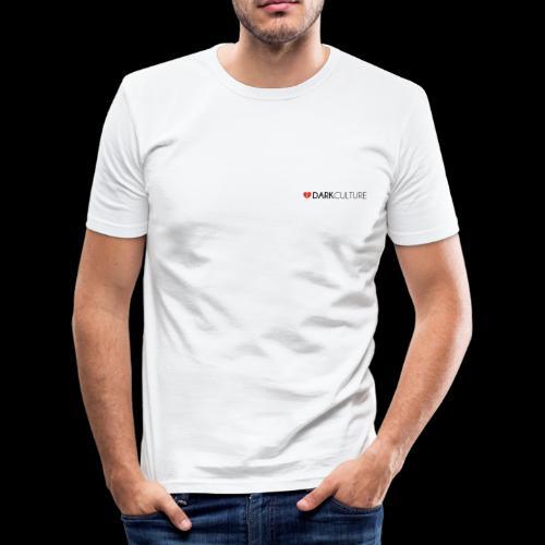 DarkCulture Streetwear logo - Maglietta aderente da uomo
