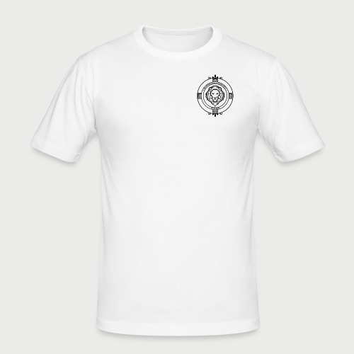 KFTG Logo - Männer Slim Fit T-Shirt