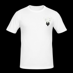 M.C.Tees Logo on our new collection - Men's Slim Fit T-Shirt