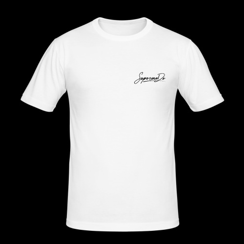 SupermoDö dezent schwarz - Männer Slim Fit T-Shirt