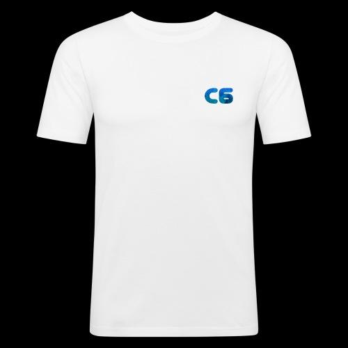 C6 Logo - Men's Slim Fit T-Shirt