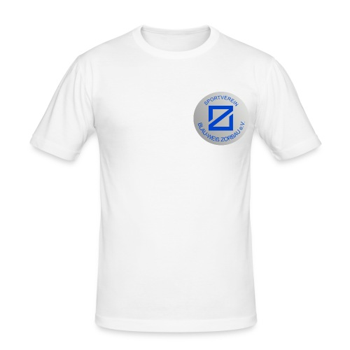 SV Blau-Weiß Zorbau - Männer Slim Fit T-Shirt