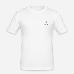 Harbul Simple Design - Men's Slim Fit T-Shirt