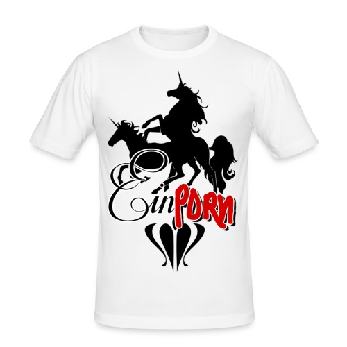 Einporn - Männer Slim Fit T-Shirt