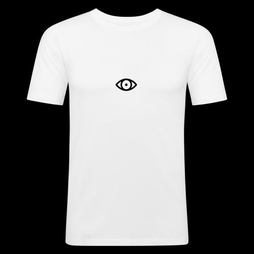 TeeVex IV Original Eye - Men's Slim Fit T-Shirt
