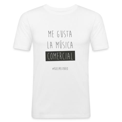 MÚSICA COMERCIAL - Camiseta ajustada hombre