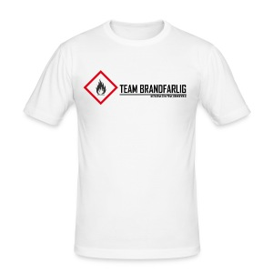 Team Brandfarlig - Slim Fit T-shirt herr