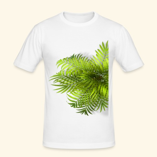 Palm T Shirt - Männer Slim Fit T-Shirt