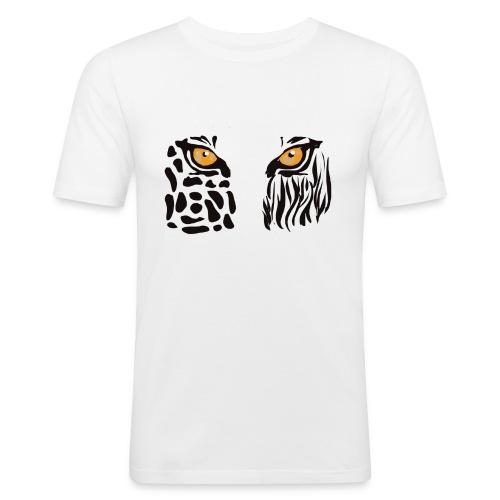 ANIMAL INSIDE - Maglietta aderente da uomo