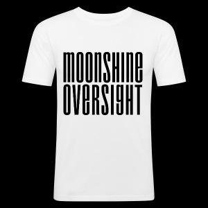 Moonshine Oversight noir - Tee shirt près du corps Homme