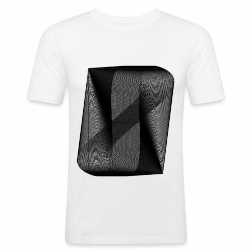 MOIRÉ II [Noir] - T-shirt près du corps Homme