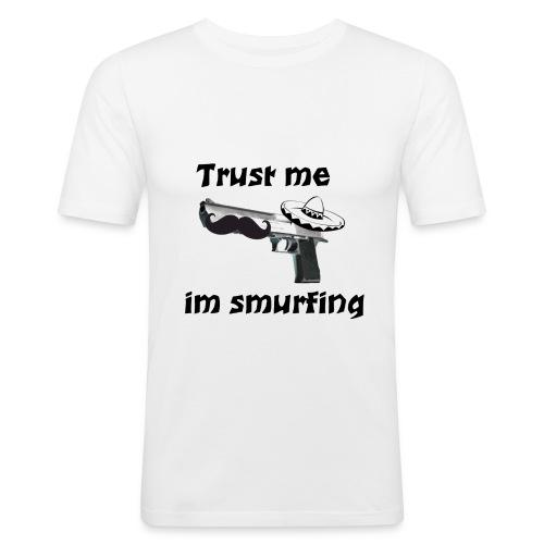 Design 5 - Männer Slim Fit T-Shirt