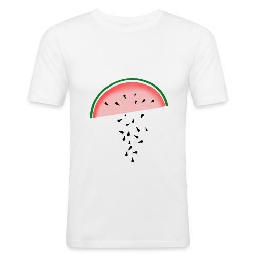Melone - Männer Slim Fit T-Shirt