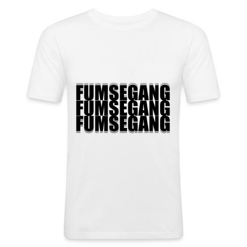 FUMSEGANG Logo Design - Männer Slim Fit T-Shirt