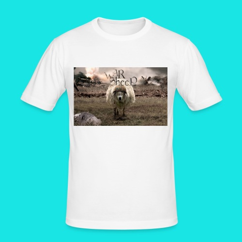 warsheep - Männer Slim Fit T-Shirt