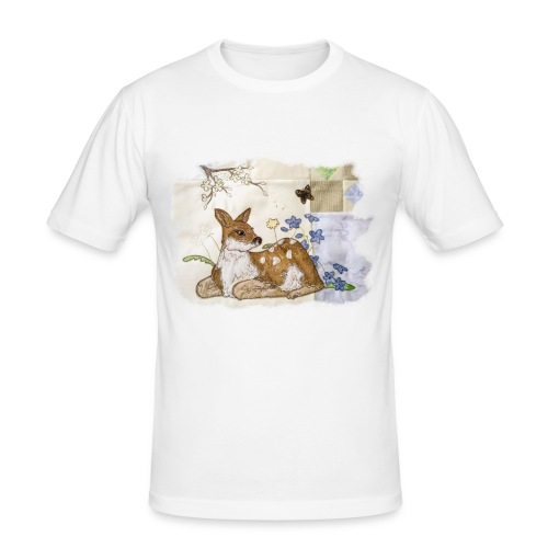 spring fawn - Men's Slim Fit T-Shirt