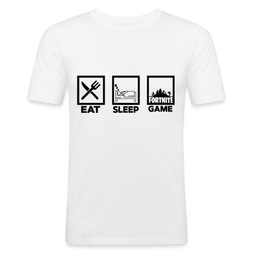 Eat, Sleep, Game - Men's Slim Fit T-Shirt
