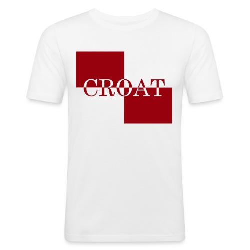 CROAT Classic - Männer Slim Fit T-Shirt