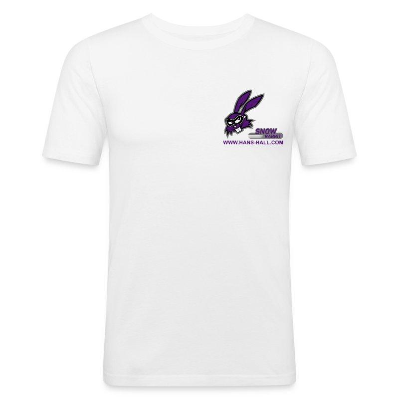 SnowRabbit - Männer Slim Fit T-Shirt