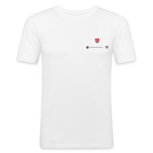 #frankrosinliebtuns - Männer Slim Fit T-Shirt