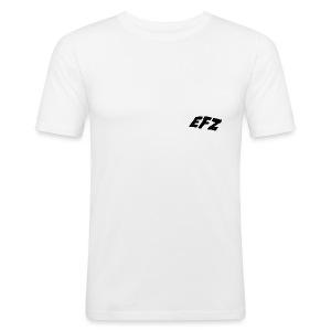 S.1 EFZSMALLLOGO - Männer Slim Fit T-Shirt