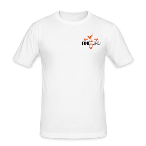 Finix Orange 2 - Men's Slim Fit T-Shirt