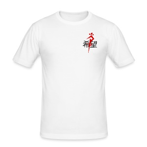 P-Hope Red - Men's Slim Fit T-Shirt