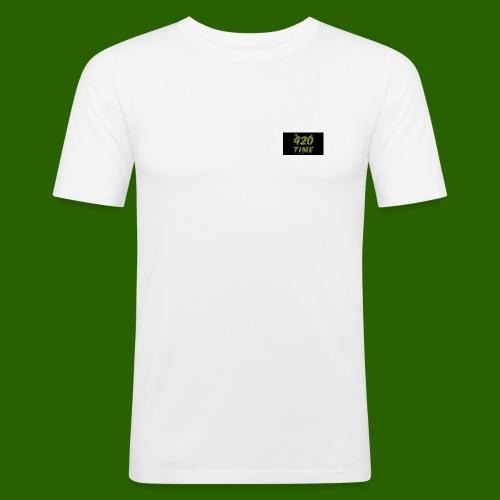 420 Time - Männer Slim Fit T-Shirt
