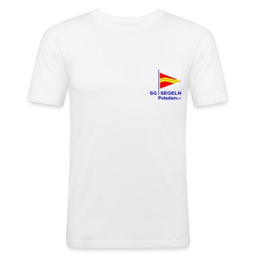 LOGO SGS - Männer Slim Fit T-Shirt