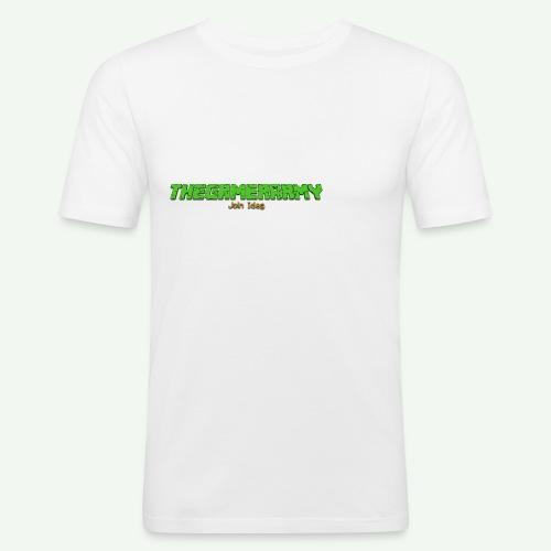 TheGamerArmy Join Idag - Herre Slim Fit T-Shirt