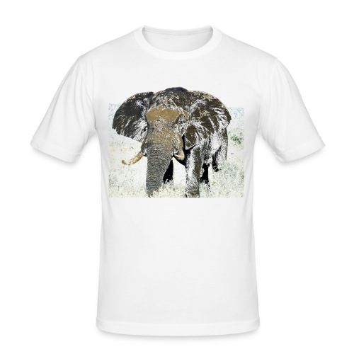 Elephant - Männer Slim Fit T-Shirt