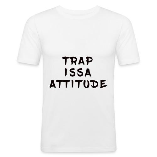 TiA Font - Männer Slim Fit T-Shirt