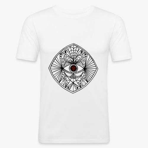 BEGONE EYE MANDALA - T-shirt près du corps Homme