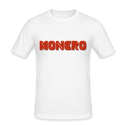 Monero - Männer Slim Fit T-Shirt